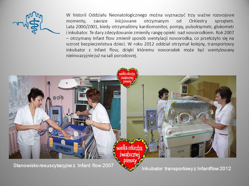 Stanowisko resuscytacyjne z Infant flow 2007