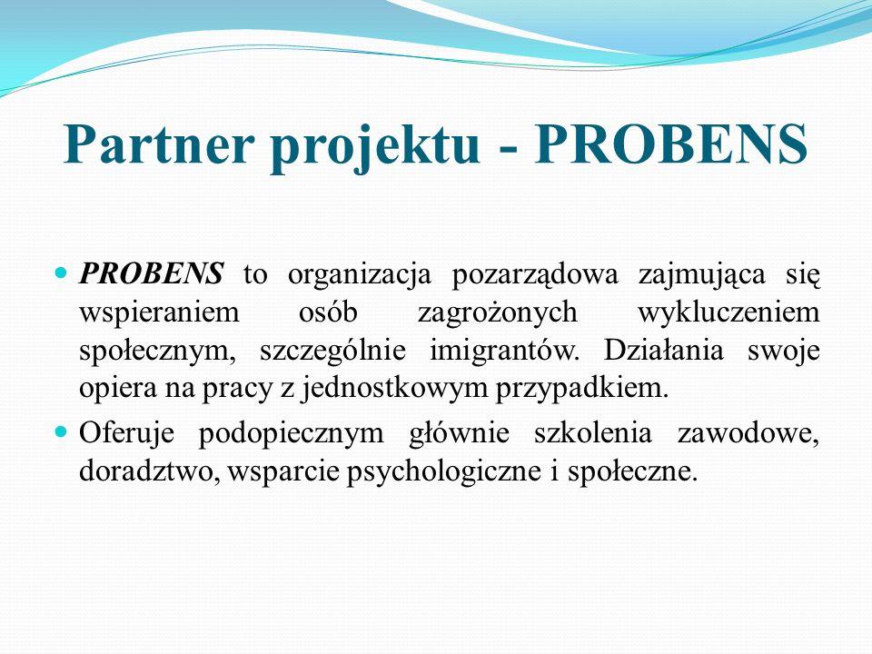 Partner projektu - PROBENS