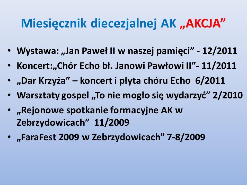 """Miesięcznik diecezjalnej AK """"AKCJA"""