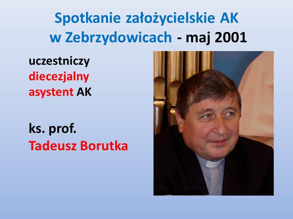 Spotkanie założycielskie AK w Zebrzydowicach - maj 2001