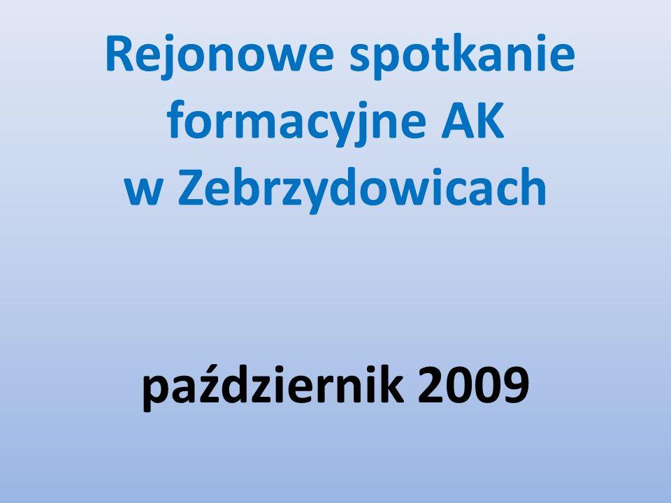Rejonowe spotkanie formacyjne AK w Zebrzydowicach