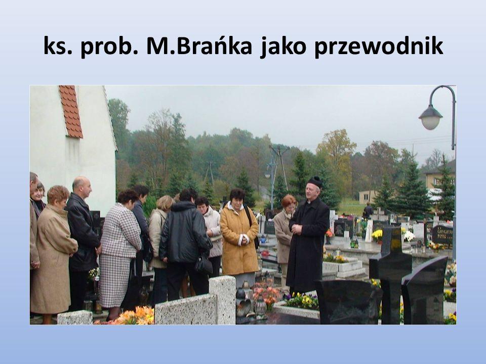 ks. prob. M.Brańka jako przewodnik