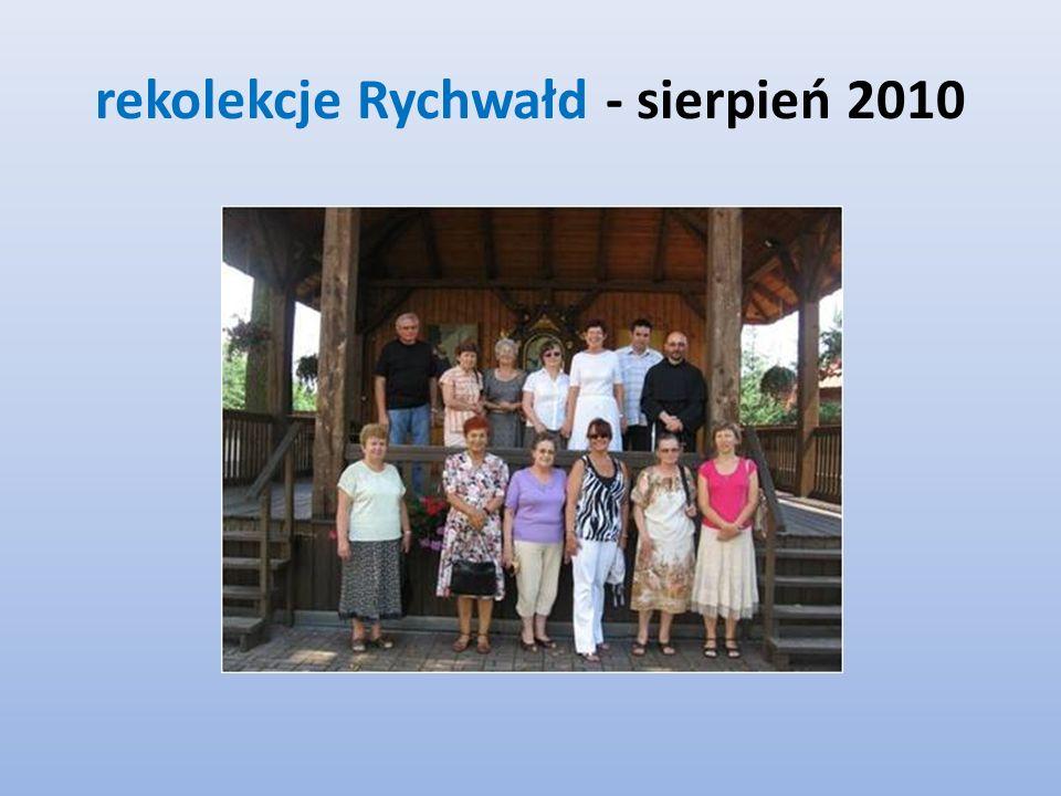 rekolekcje Rychwałd - sierpień 2010