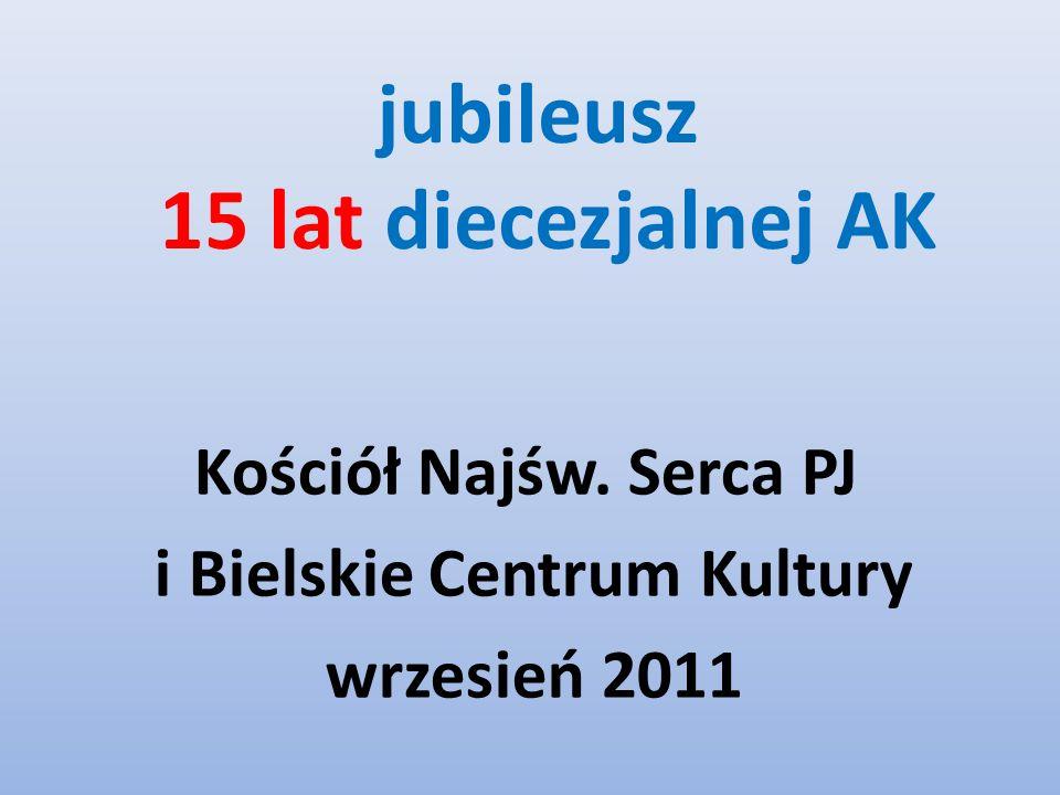 jubileusz 15 lat diecezjalnej AK