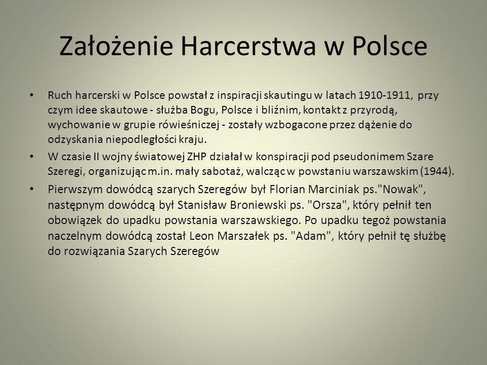 Założenie Harcerstwa w Polsce