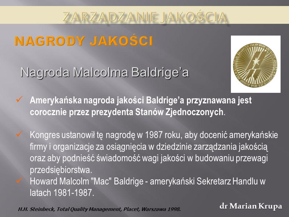 Nagroda Malcolma Baldrige'a