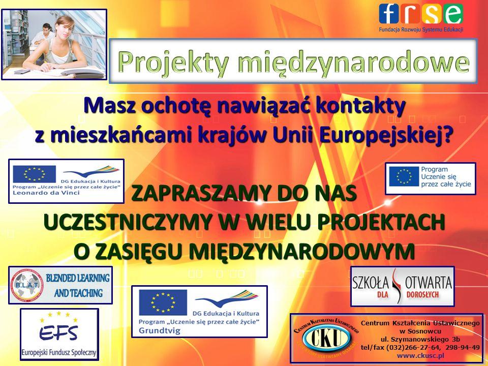 Projekty międzynarodowe