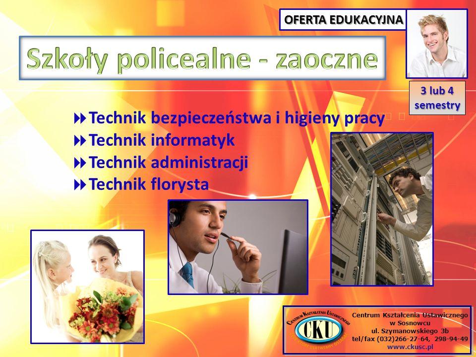 Szkoły policealne - zaoczne