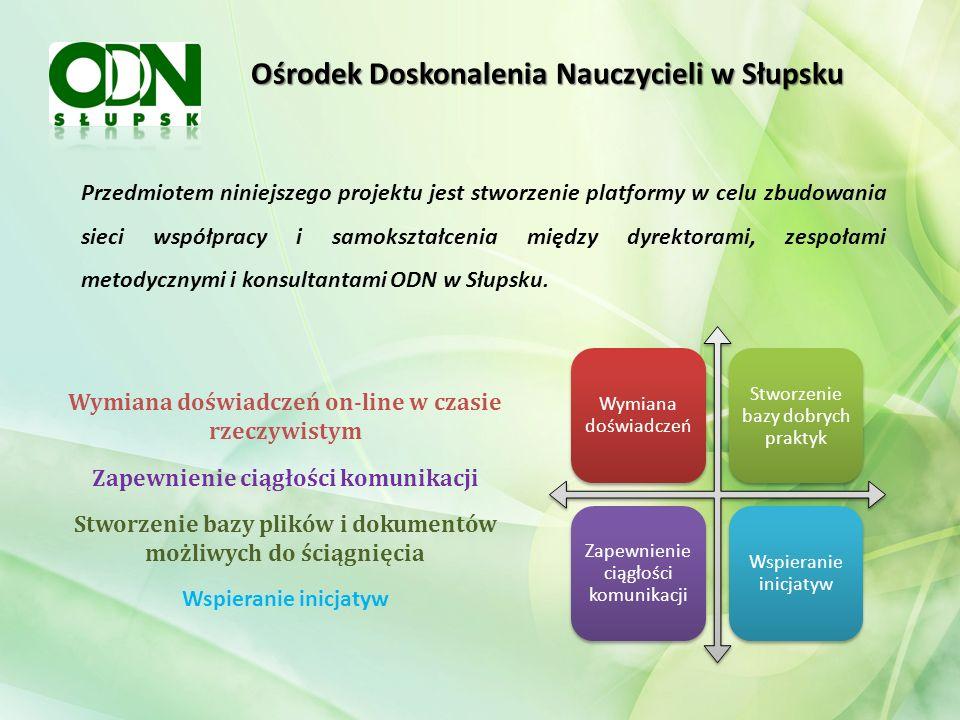 Ośrodek Doskonalenia Nauczycieli w Słupsku