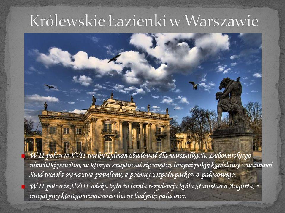 Królewskie Łazienki w Warszawie