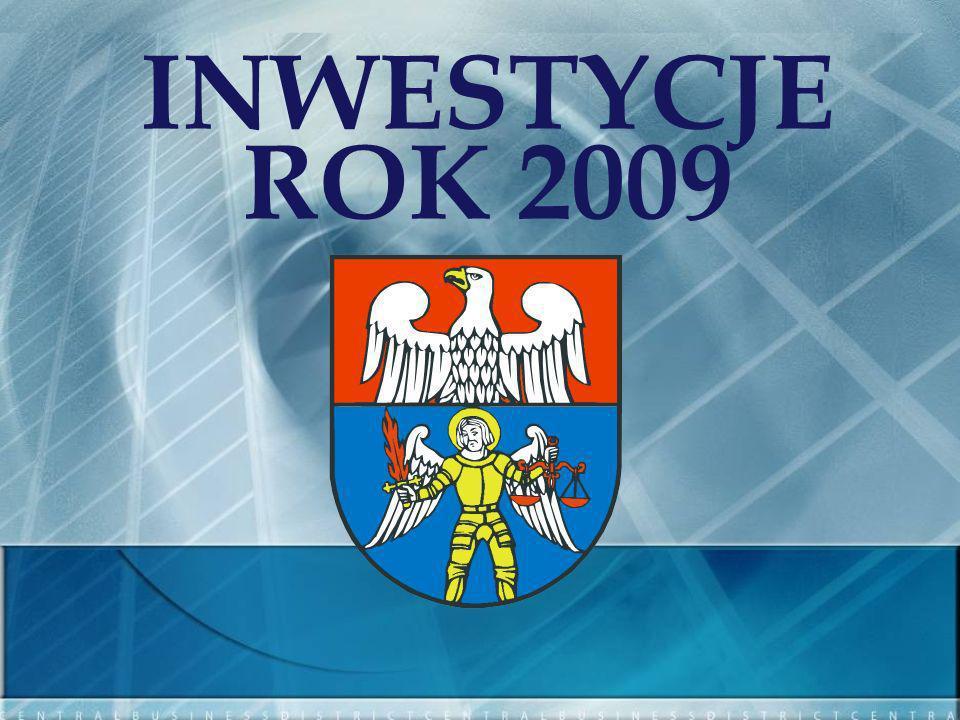 INWESTYCJE ROK 2009