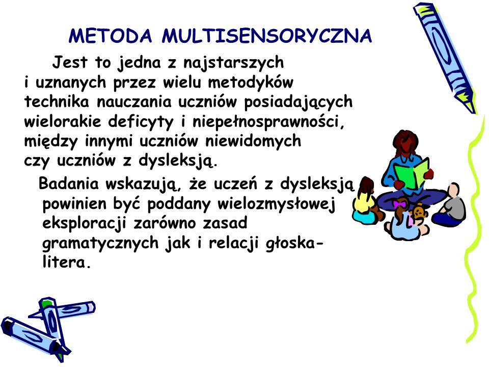 METODA MULTISENSORYCZNA