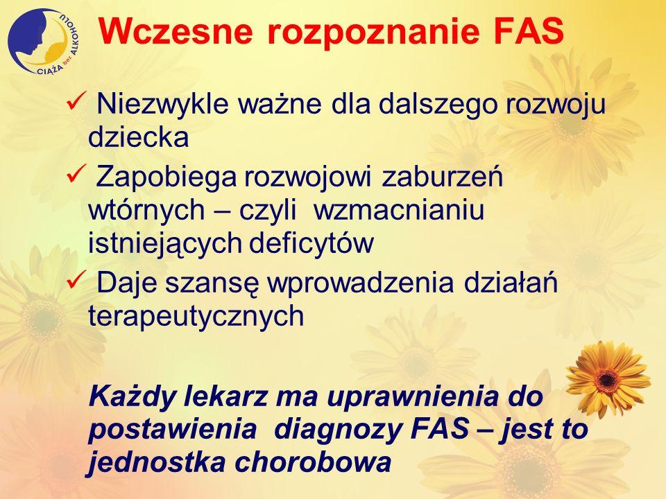 Wczesne rozpoznanie FAS