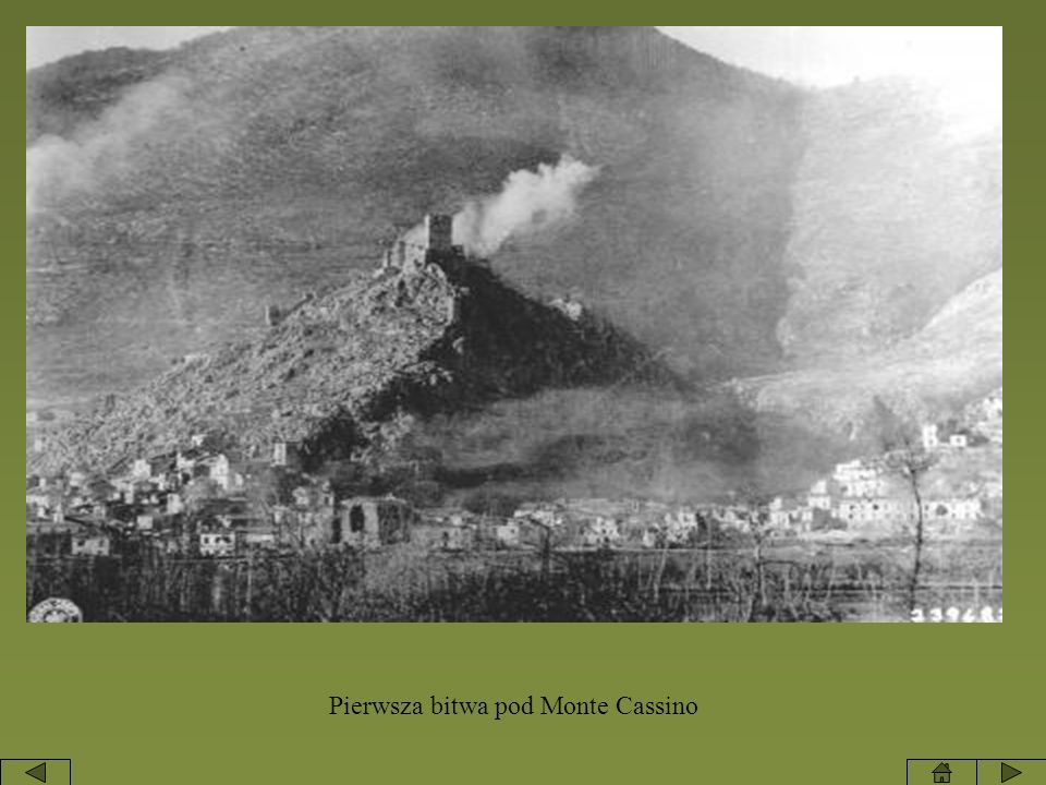 Pierwsza bitwa pod Monte Cassino