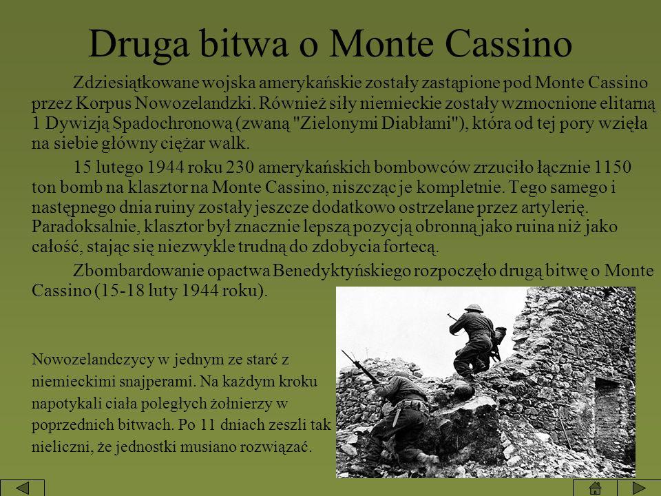 Druga bitwa o Monte Cassino