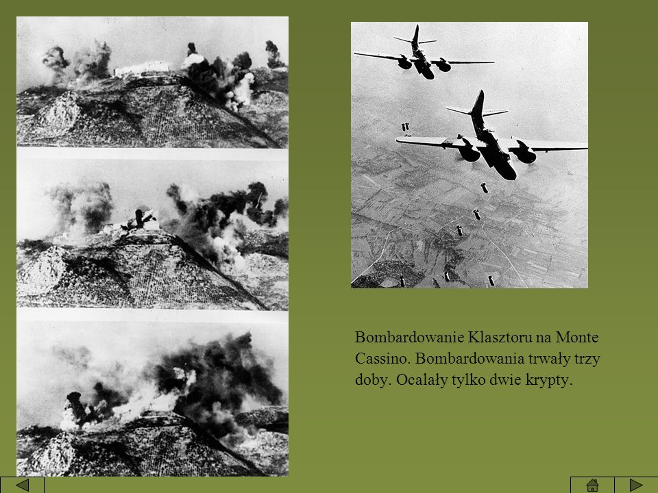 Bombardowanie Klasztoru na Monte Cassino
