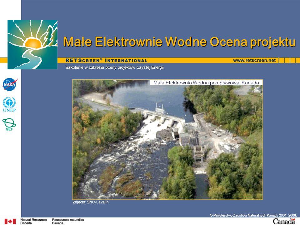 Mała Elektrownia Wodna przepływowa, Kanada