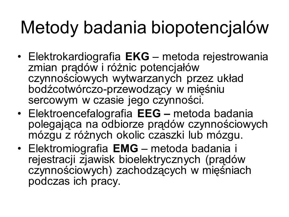 Metody badania biopotencjalów