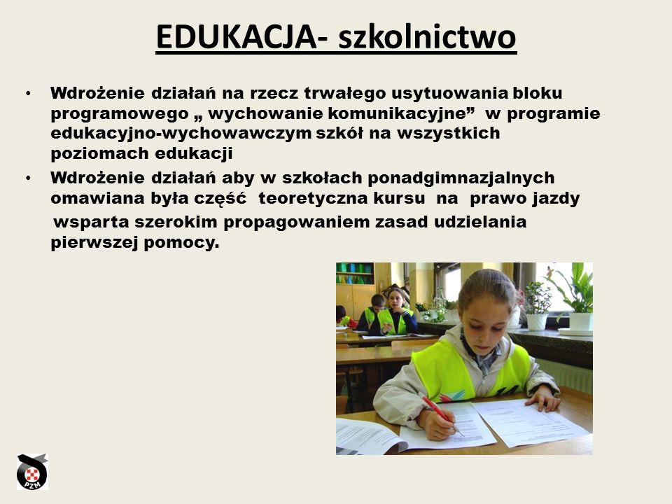 EDUKACJA- szkolnictwo