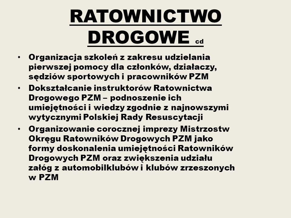 RATOWNICTWO DROGOWE cd