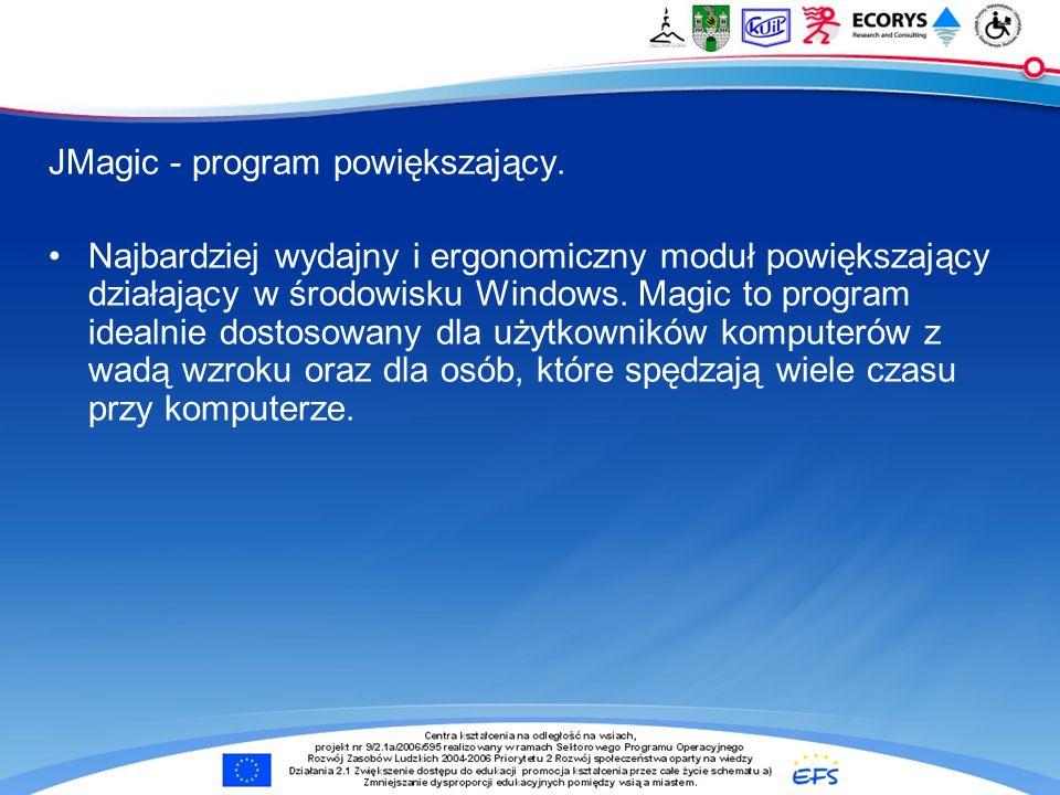 JMagic - program powiększający.