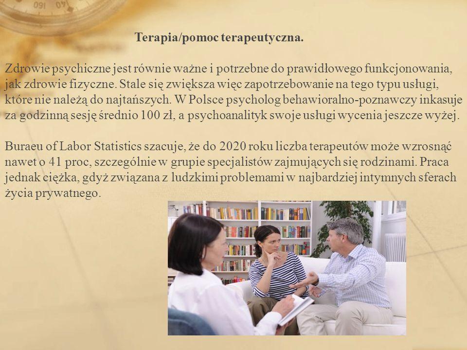Terapia/pomoc terapeutyczna.
