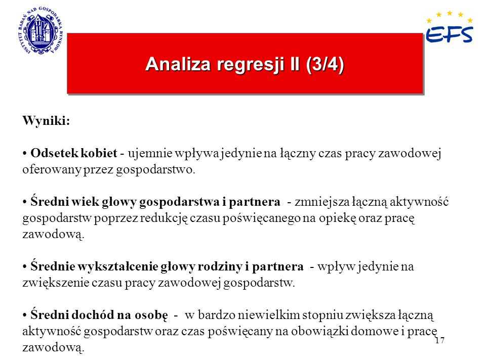 Analiza regresji II (3/4)