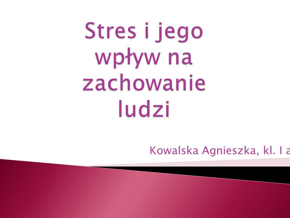 Stres i jego wpływ na zachowanie ludzi
