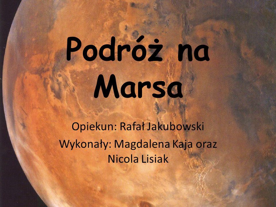 Opiekun: Rafał Jakubowski Wykonały: Magdalena Kaja oraz Nicola Lisiak