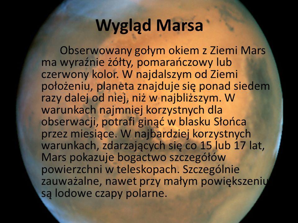 Wygląd Marsa