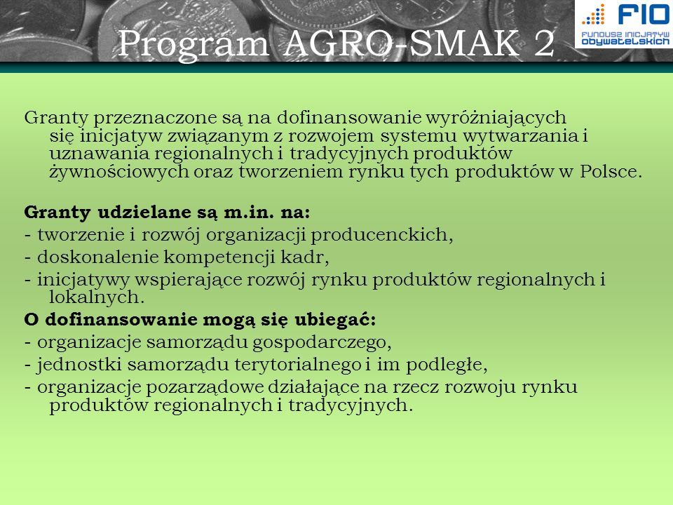 Program AGRO-SMAK 2