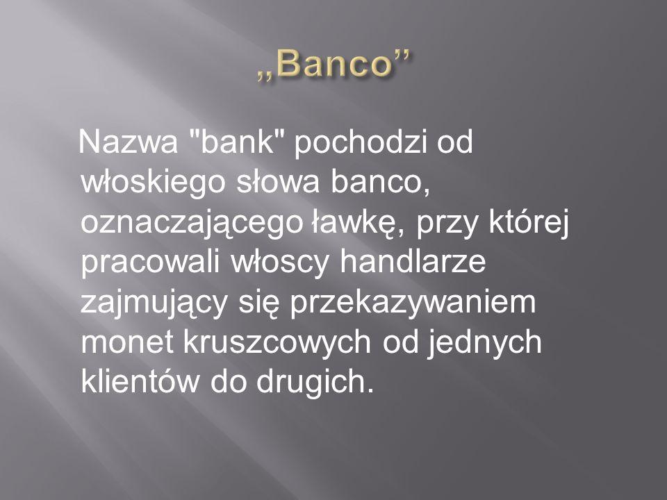 """Banco"