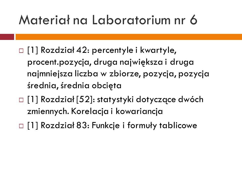 Materiał na Laboratorium nr 6