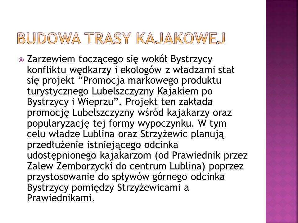Budowa Trasy Kajakowej