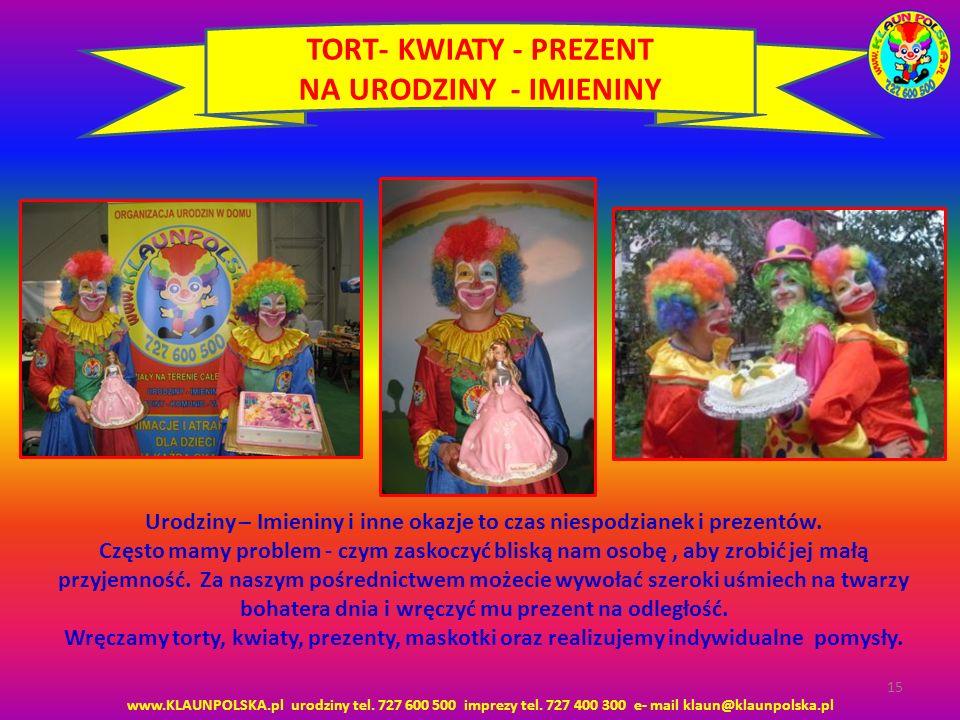 TORT- KWIATY - PREZENT NA URODZINY - IMIENINY