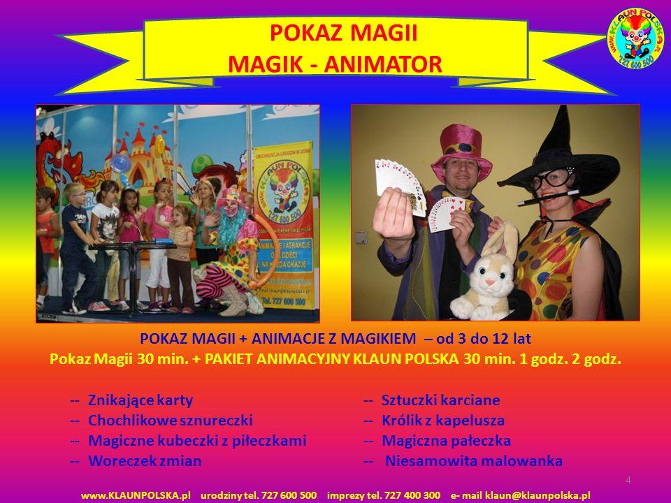 POKAZ MAGII MAGIK - ANIMATOR