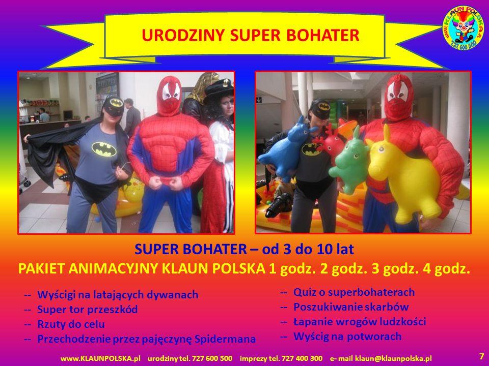 URODZINY SUPER BOHATER