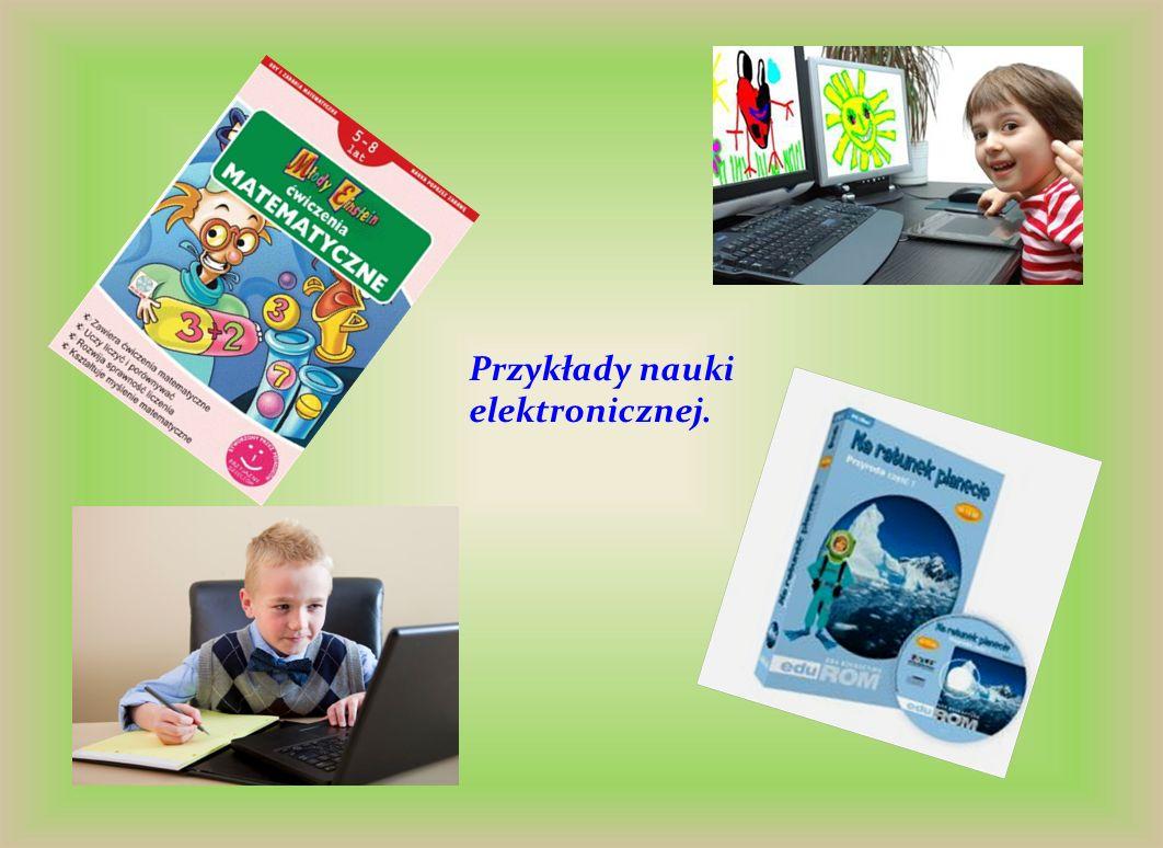 Przykłady nauki elektronicznej.