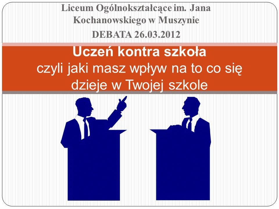 Liceum Ogólnokształcące im. Jana Kochanowskiego w Muszynie
