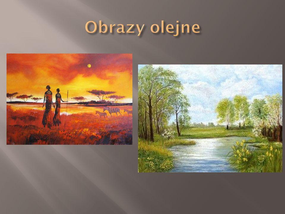Obrazy olejne