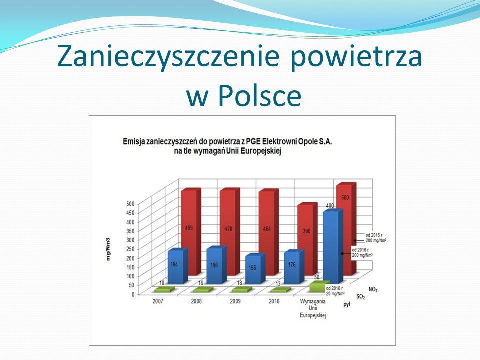 Zanieczyszczenie powietrza w Polsce