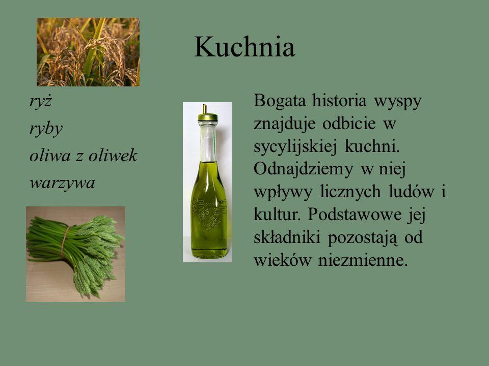 Kuchnia ryż ryby oliwa z oliwek warzywa