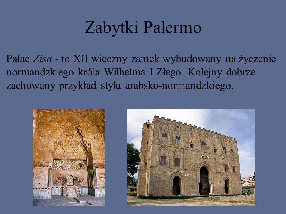 Zabytki Palermo