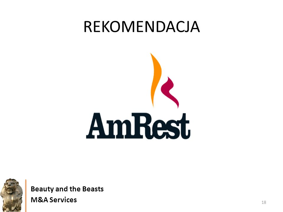 REKOMENDACJA Beauty and the Beasts M&A Services