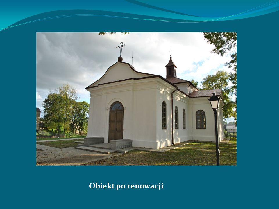 Obiekt po renowacji