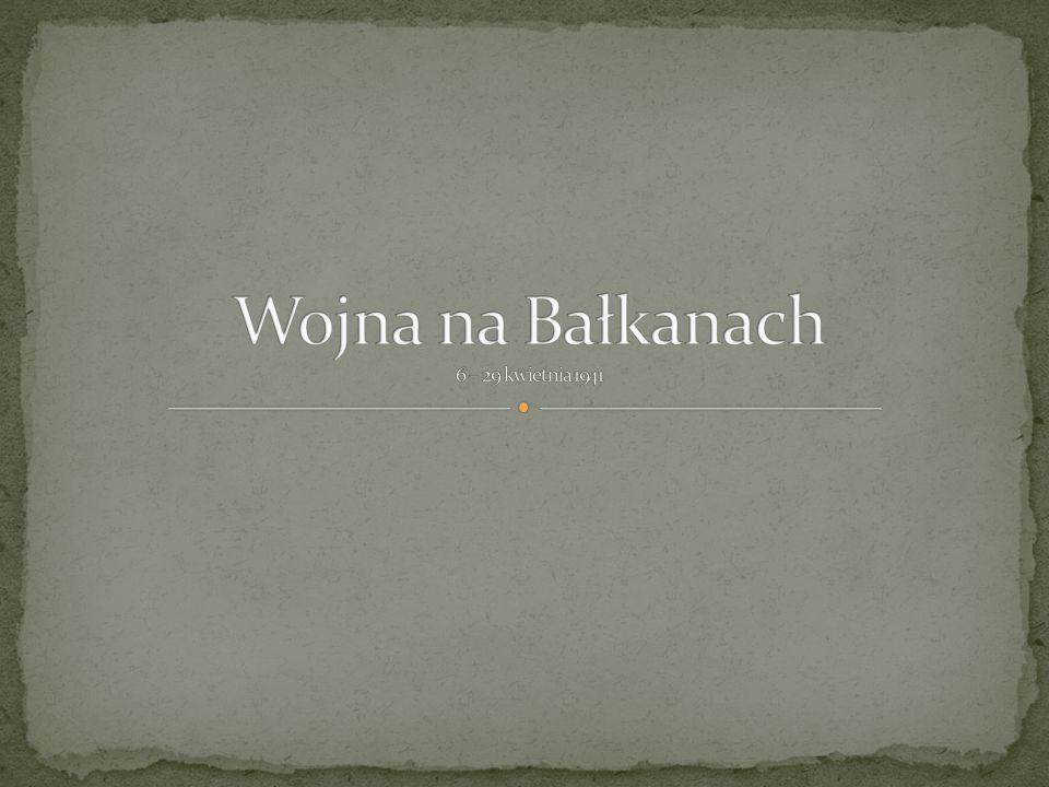 Wojna na Bałkanach 6 – 29 kwietnia 1941
