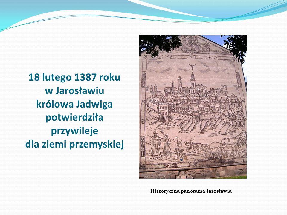 Historyczna panorama Jarosławia