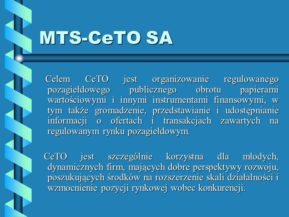 MTS-CeTO SA