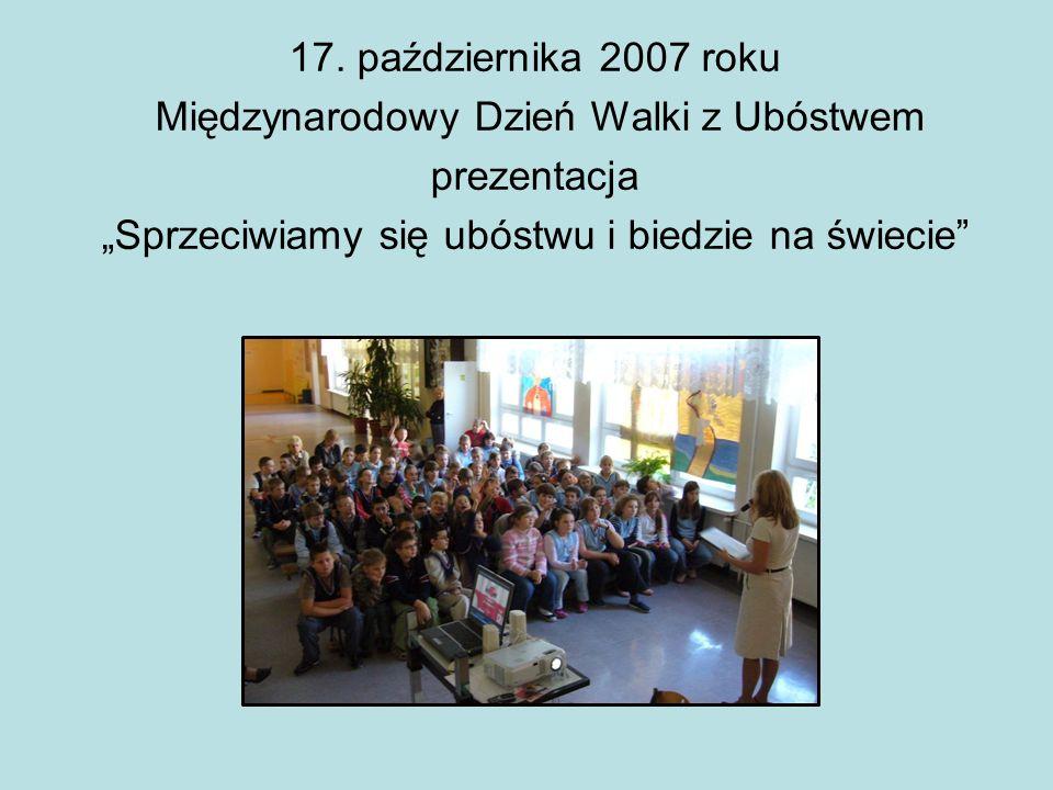 Międzynarodowy Dzień Walki z Ubóstwem prezentacja