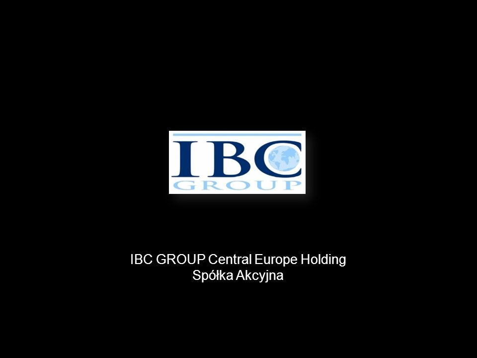 IBC GROUP Central Europe Holding